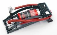 REDLINE 24985 SINGLE BARREL FOOT PUMP TYRE INFLATER WITH HOSE CAR TYRES AIRBEDS